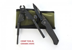 CRIMP TOOL & CERAMIC KNIFE